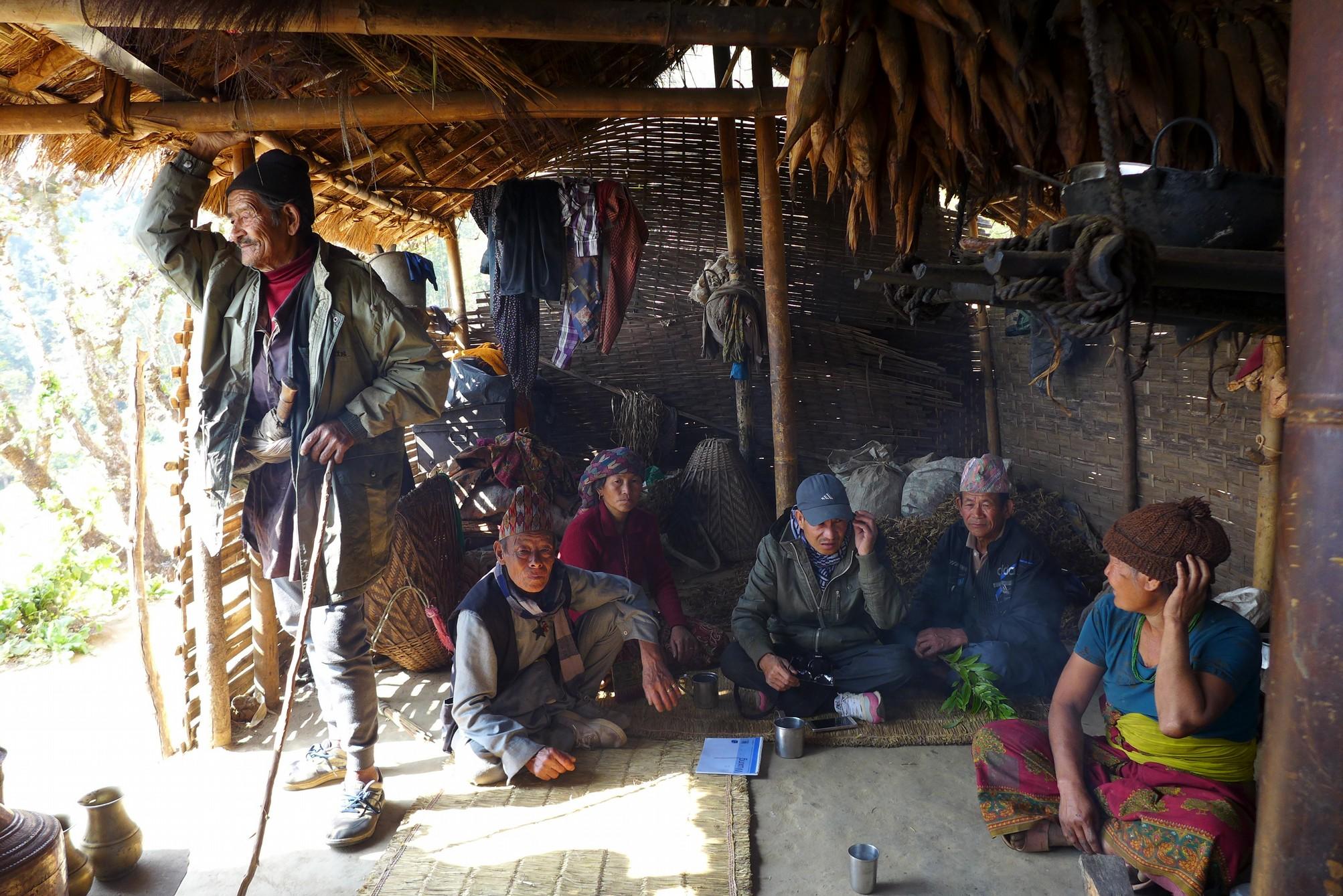 A Nachiring shelter in Aiselukharka