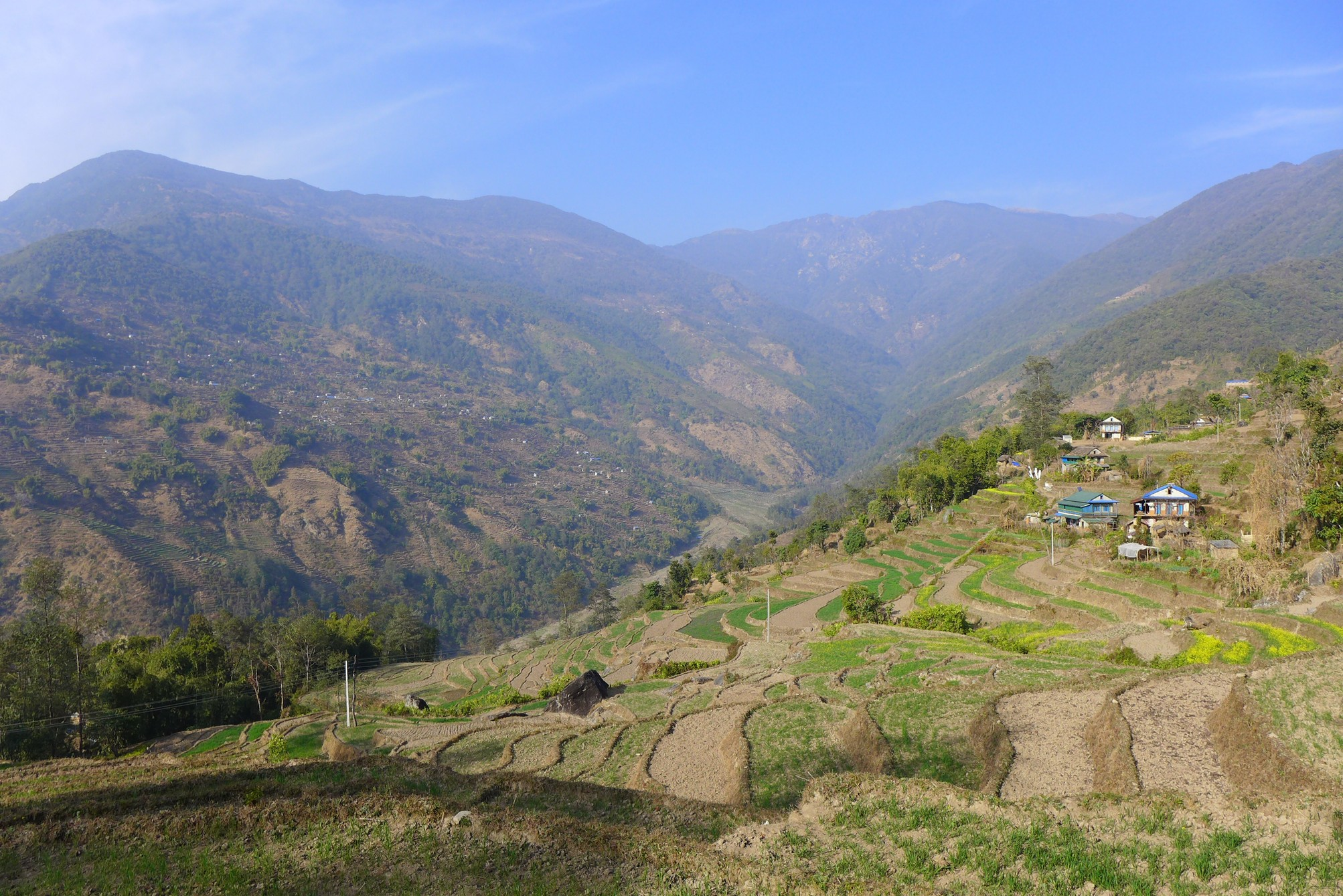 The Lidim river valley forms the center of the Nachiring speaking area