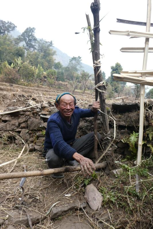 Village elder, priest and gifted story-teller